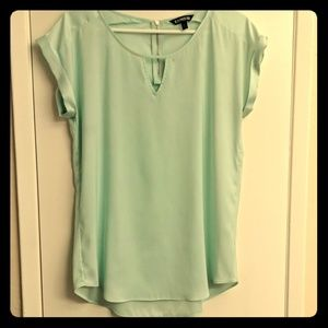 Pale mint Express dressy tee